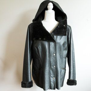 XL Thick Danier Leather Lined Jacket